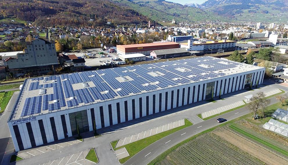 Lagerstrasse Buchs 790 kWp