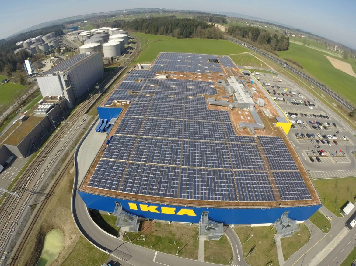 IKEA Rothenburg 1508 kWp