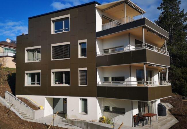 Inbetriebnahme Fassadenprojekt Segantinistrasse 186