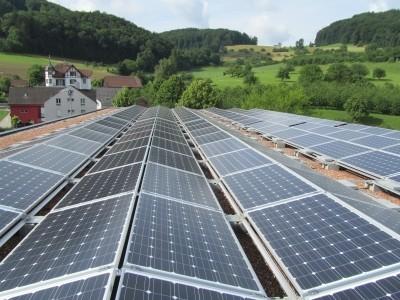 Mehrzweckhalle Maisprach 58 kWp