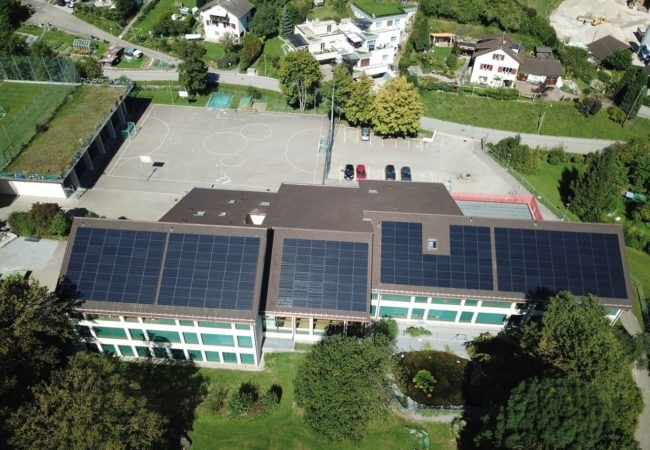 Inbetriebnahme Schulhaus Wila
