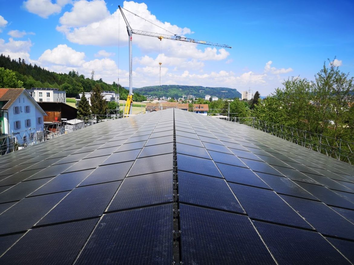 Lagerhalle Hausen AG 166 kWp