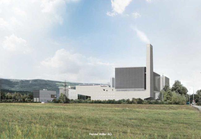 KEBAG Enova Zuchwil wird die grösste PV Fassade der Schweiz